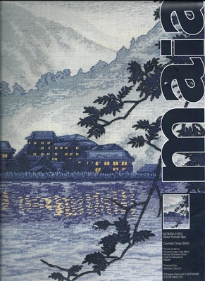 Maia Counted Cross Stitch - Nikko Yumoto Spa
