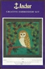 Anchor Creative Embroidery Kit - Owl