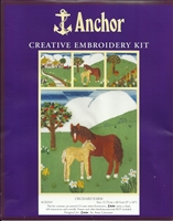 Anchor Creative Embroidery Kit - Orchard Farm