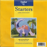 Anchor Starters Long Stitch Kit - Dinosaur
