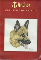 Anchor Counted Cross Stitch - German Shepherd