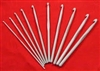 Crochet hooks sizes  12.00mm to 15.00mm