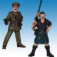 General Gordon & 'Big Tam' Fraser