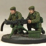 Army Support Weapon Team: HMG