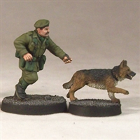 Army Dog Handler & Dogs