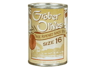 no 16 graber olives four tins