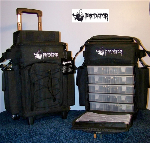 Predator Roller Bag Small Exclusive To Outkast Fishing Tackle