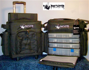 PREDATOR ROLLER BAG - LARGE  (Exclusive to Outkast Fishing Tackle)