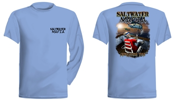 "Saltwater Mafia - ""Ain't Done Yet"" Short Sleeve (Select Size)"