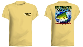 "Saltwater Mafia - ""Controlling Offshore"" Short Sleeve (Select Size)"