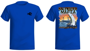 "Saltwater Mafia - ""Tarpoon"" Short Sleeve (Select Size)"