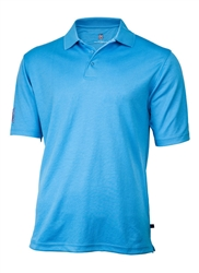 Mens PGA Tour Classic Golf Shirt, Royal Blue