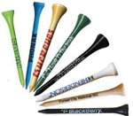 "3 1/4"" Imprinted Wood Tees - Price includes Your Logo!"