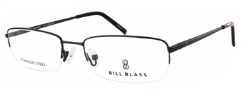 Bill Blass 956 Medium Brown Eyeglass Frame