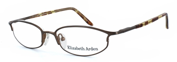 Elizabet Arden - 1002 Brown/Gold Eyeglass Frame