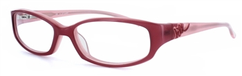 Jill Stuart 161 Red Eyeglass Frame