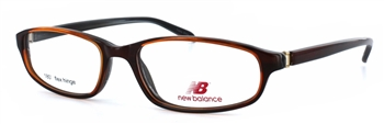 New Balance 161 Brown Eyeglass Frame