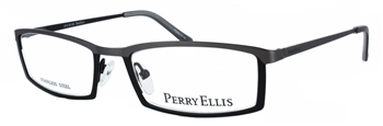 Perry Ellis 907 Eyeglass Frame in Black