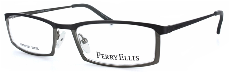 Perry Ellis 907 Eyeglass Frame in Gunmetal