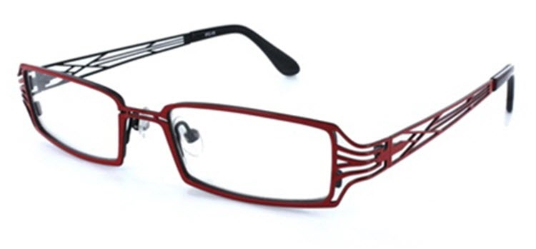 AD416 - Red (92) Eyeglass Frame