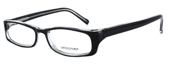 14th Avenue - Black Eyeglass Frame
