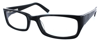 Madrid 2 - Black Eyeglass Frame