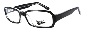 2095 Eyeglass Frame in Black