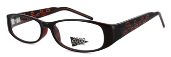 2099 Eyeglass Frame in Black