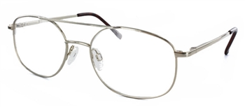 T41 - Gold Eyeglass Frame