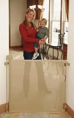 "Retractable Child and Baby Barriers (72"" inch wide)"
