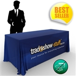 Wrinkle Free Trade Show Table Cover
