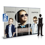 Impact 9ft Retractable Banner Stand Wall