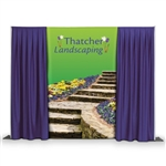 Pipe and Drape Custom Backdrop Banners