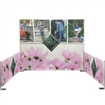 Pipe and Drape Full Backwall Banner Kit