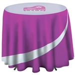 Full Color Imprint Round Cafe Table Cover