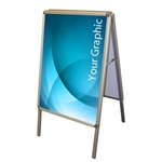 Snap A-Frame Sign Display