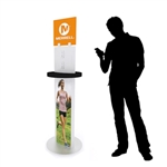 Mobile Device Charging Station Kiosk Tower