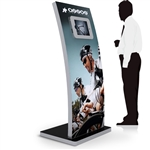 64 in LED Lightbox iPad Kiosk Display