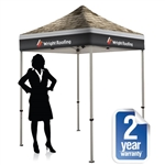 Showstopper Pop Up Tent 6 x 6 Full Print Canopy Dye Sub