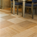 Tile Bamboo Trade Show Flooring