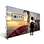 Captivate 15ft Trade Show PopUp Display
