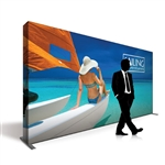 Captivate 15ft Fabric Pop Up Display