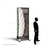 Captivate Tower Fabric PopUp Display