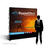 Captivate 8' Trade Show PopUp Display