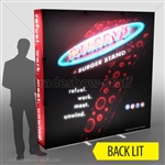Backlit Captivate 8ft Fabric PopUp Display