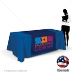 "42"" wide Custom Table Runner with Logo"
