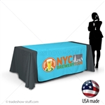 "60"" wide Custom Table Runner with Logo"