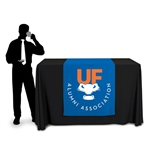 "36"" Wide Demonstration Height Table Runner with Logo"