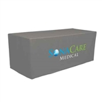 Fitted Trade Show Table Cover with logo