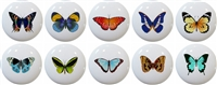 Butterfly Knobs - Set of 10